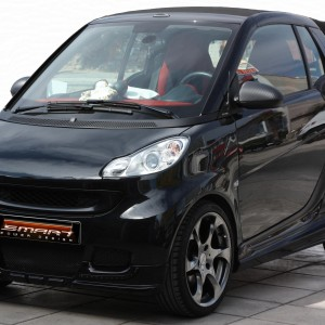 Body Kit Black Color Smart Fortwo 451.