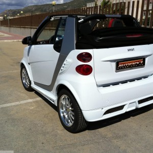 Body Kit White Smart Fortwo 451.