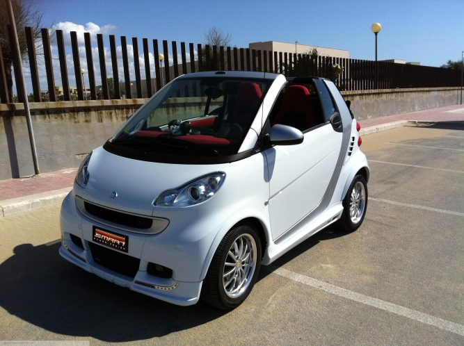 Body Kit White Color Smart Fortwo 451.