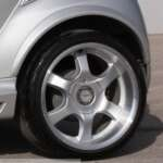 Fender Flares River Silver rear Smart Fortwo 451.