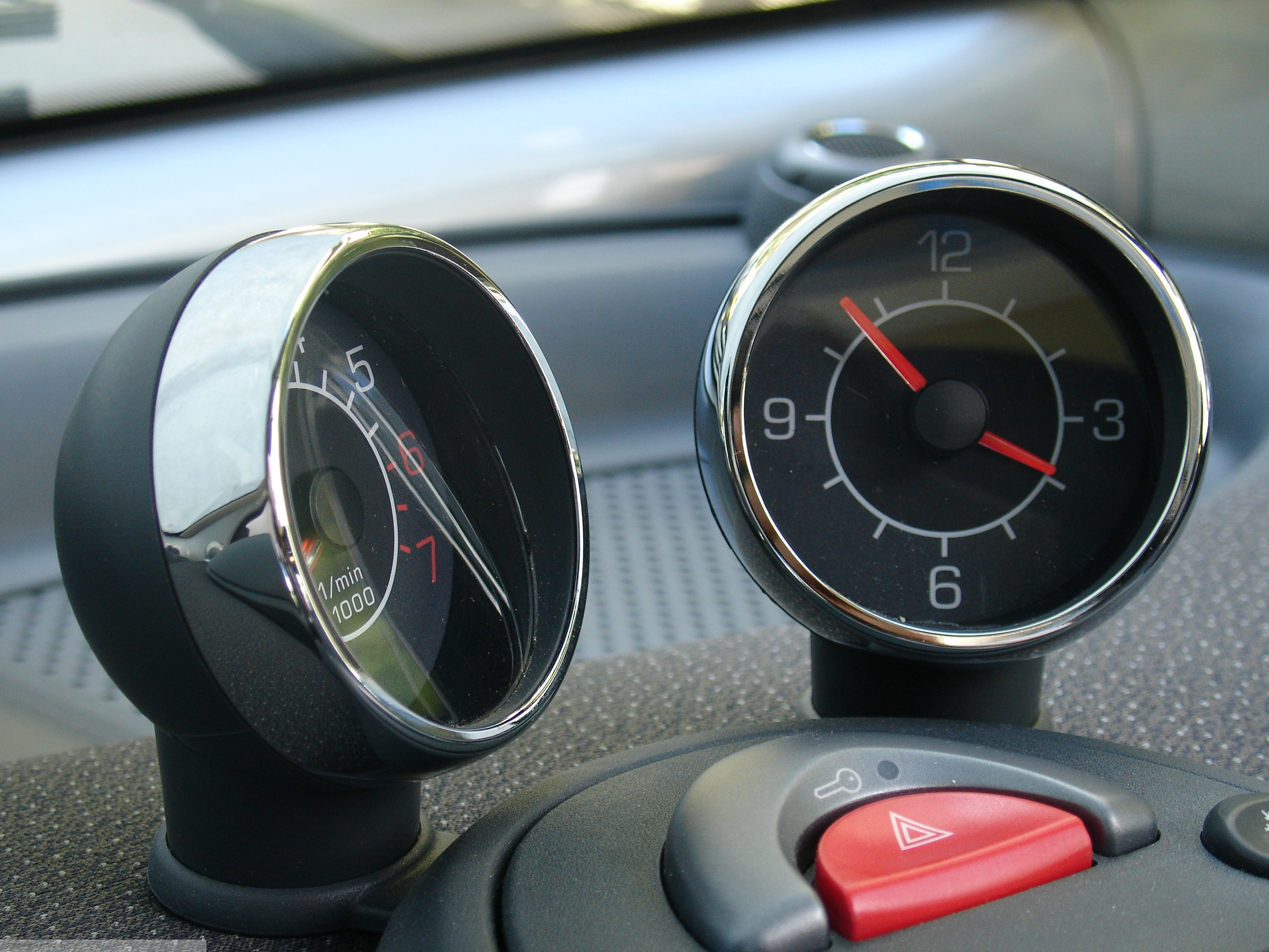 Frames Gauges Chrome Smart Fortwo 450.