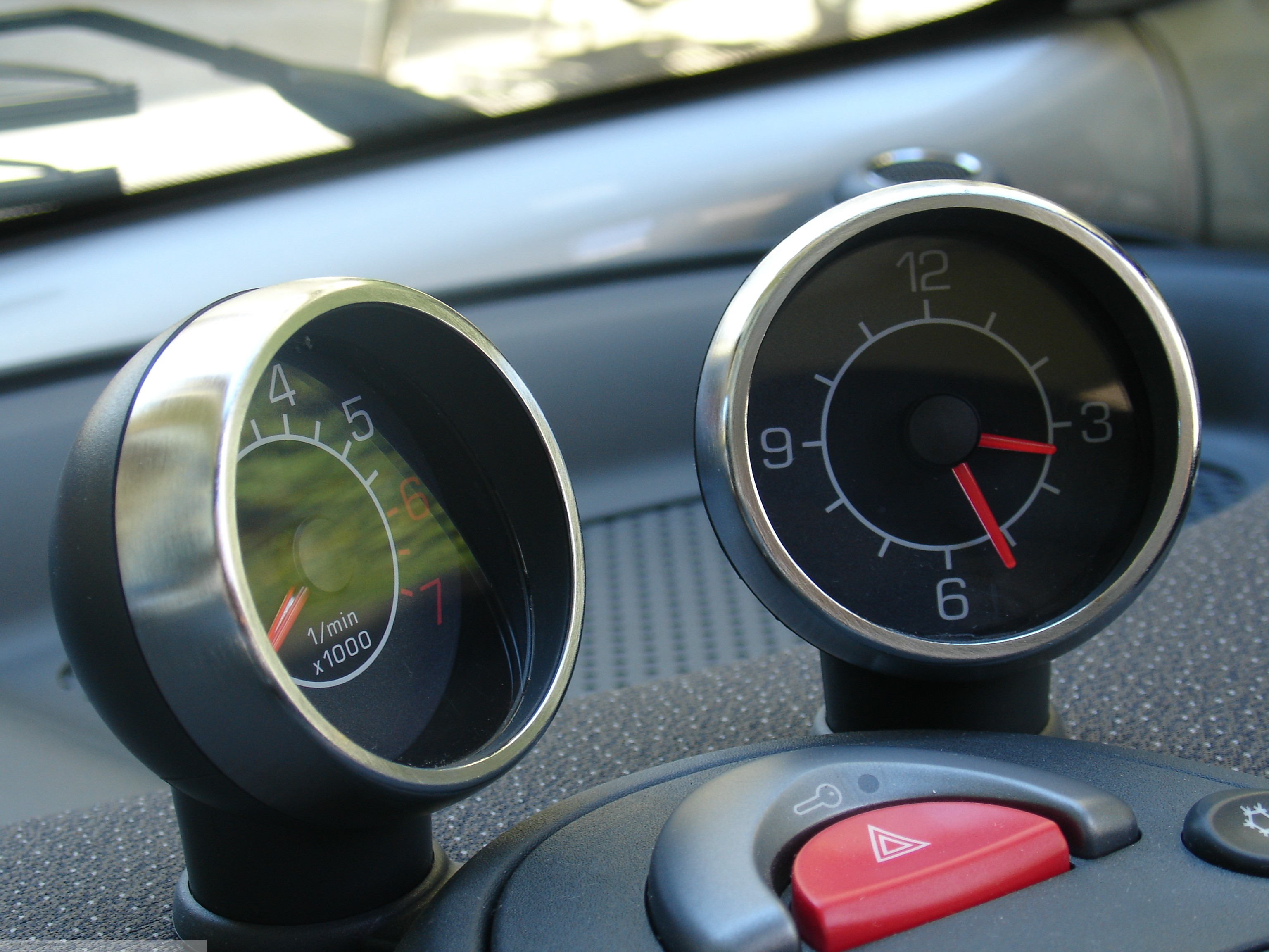 Frames Gauges Chrome Mat Smart Fortwo 450.