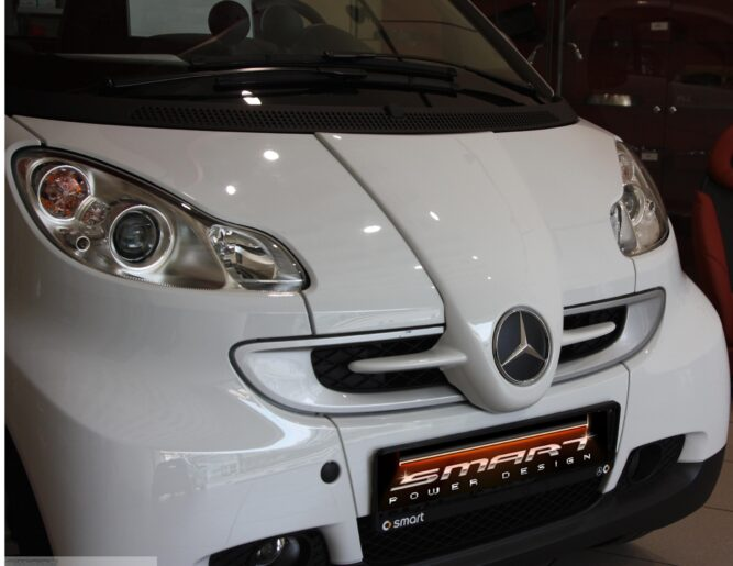 Front Grille White Color Smart Fortwo 451.