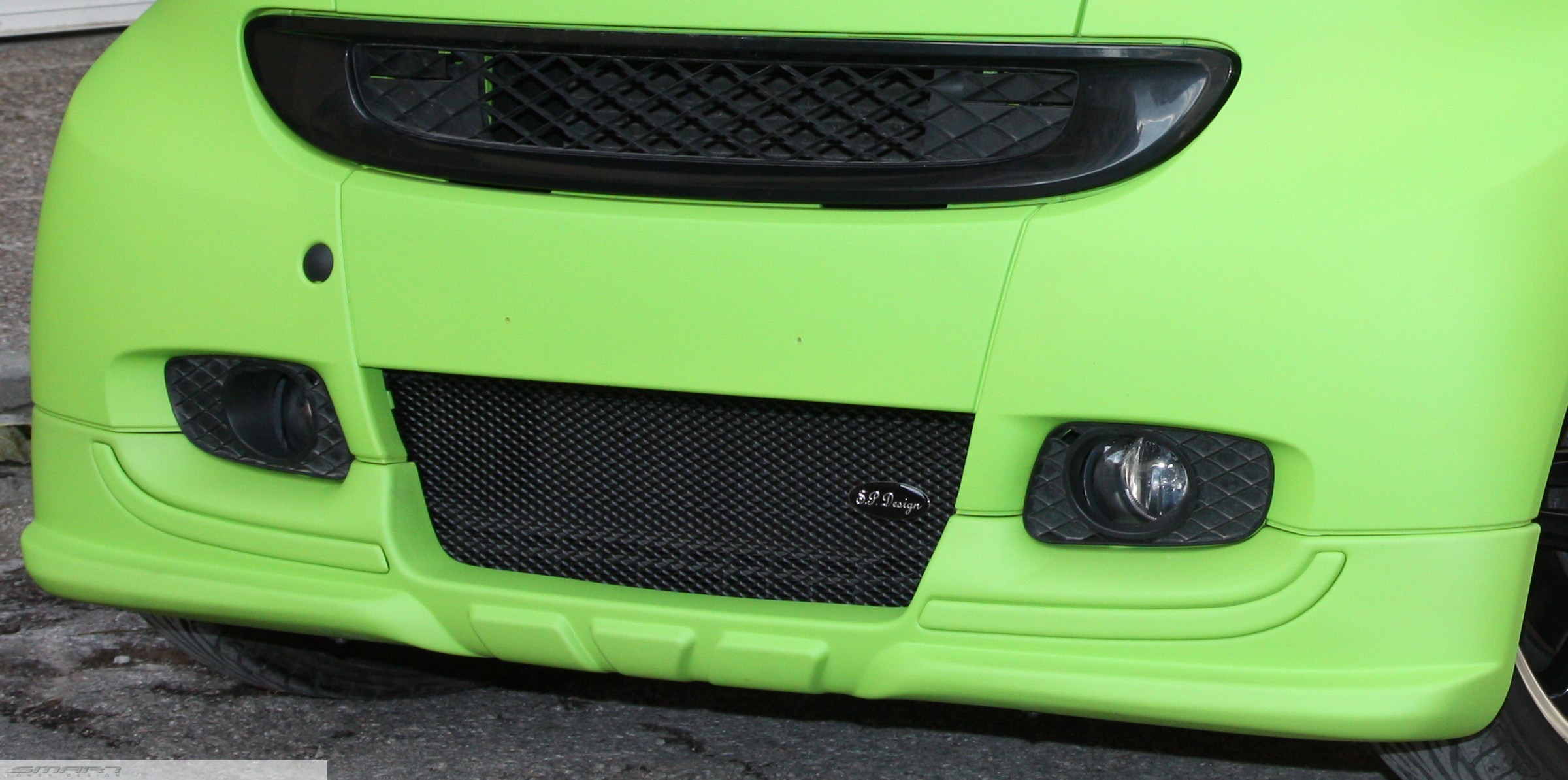Front Spoiler Desired Color Smart Fortwo 451.