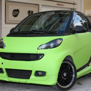 Front Spoiler River Other Color Smart Fortwo 451.