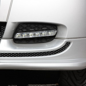 Front Spoiler River Silver Smart Fortwo 451.