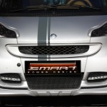 Front Spoiler Silver Smart Fortwo 451.