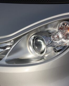 Headlight Frames Silver Smart Fortwo 451.