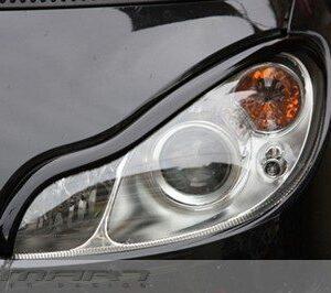 Headlight Frames Jack Black Smart Fortwo 451.