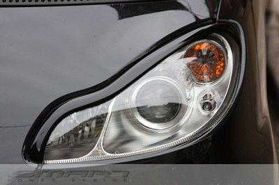 Headlight Frames Jack Black Smart Fortwo 451.
