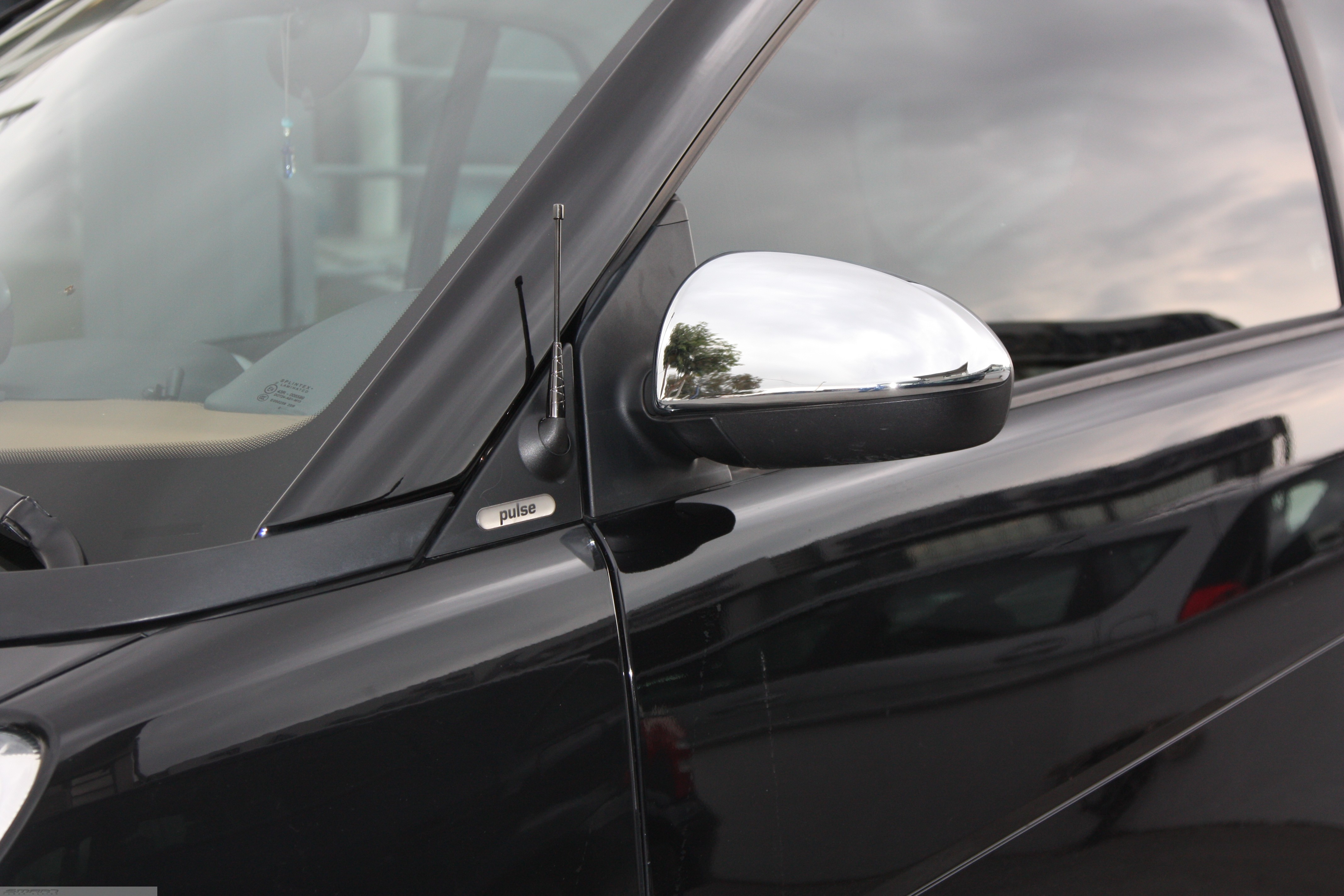 Mirror covers Chrome Smart Fortwo 451.