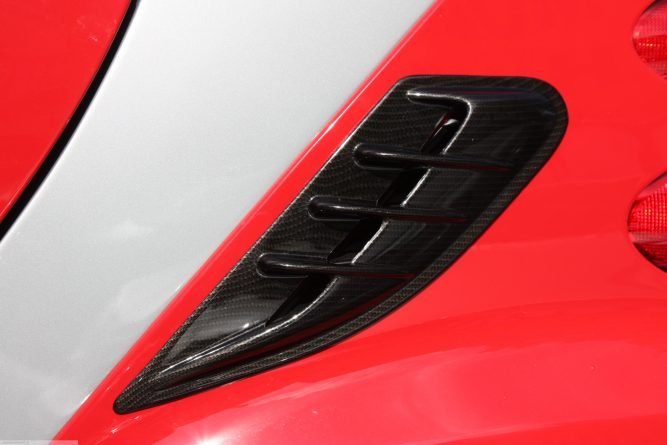Side Air Intake Scoop Carbon Finish Smart Fortwo 451.