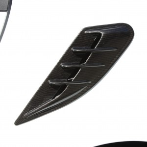 Side Air Intake Scoop Carbon Smart Fortwo 451.