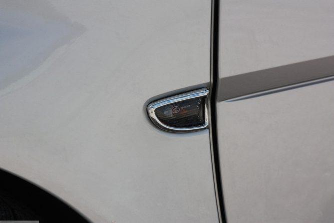Side Indicator Rims Chrome Smart Fortwo 451.