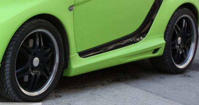 Side Skirts Desired Color Smart Fortwo 451.
