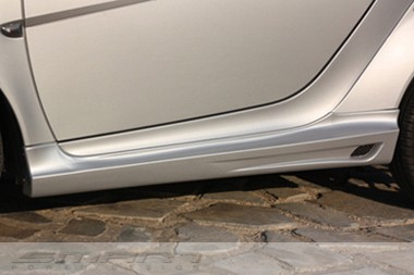 Side Skirts Silver Color Smart Fortwo 451.