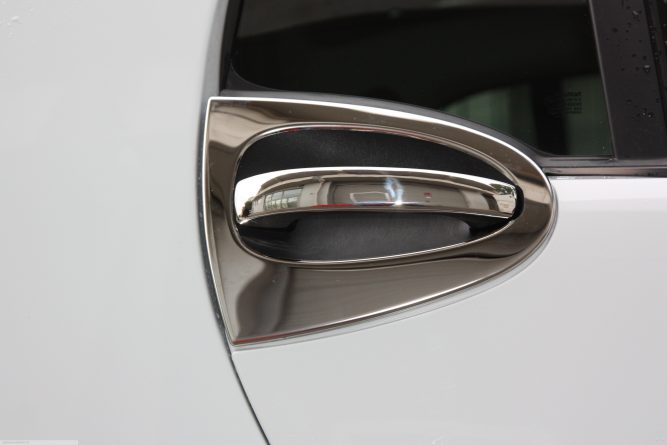 Smart Fortwo 451 Door Handle Rim and Cover.