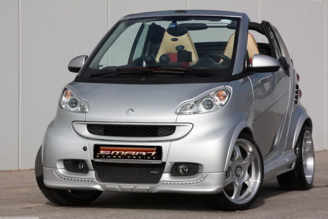 Body Kit River Silver Smart Fortwo 451.