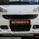 Front Spoiler with Daytime Running Lights for Smart Fortwo W451.