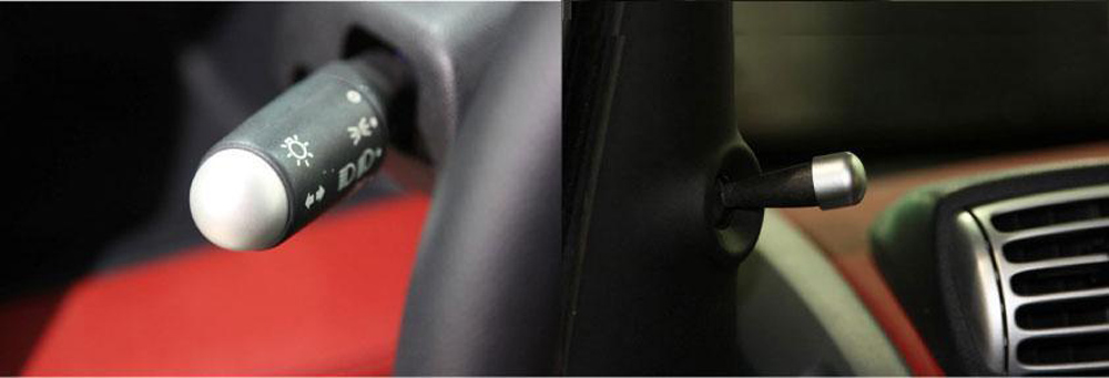 Covers for Mirror Levers and Combiswitch Smart Fortwo 451.