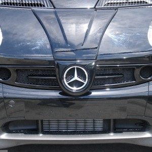 Front Grille F1 Black Smart Fortwo 450.