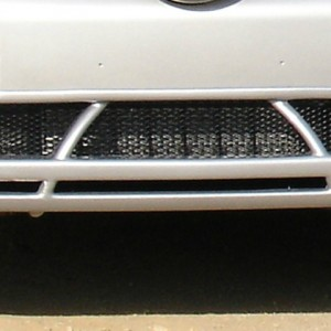 Front Spoiler River Silver Smart Fortwo 450 ( Style 2).