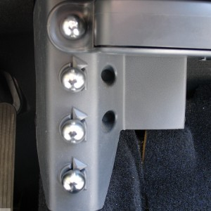 Knobs Extra Bags Chrome Mat Smart Fortwo 450.