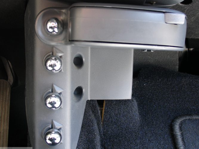 Knobs Extra Bags Chrome Smart Fortwo 450.