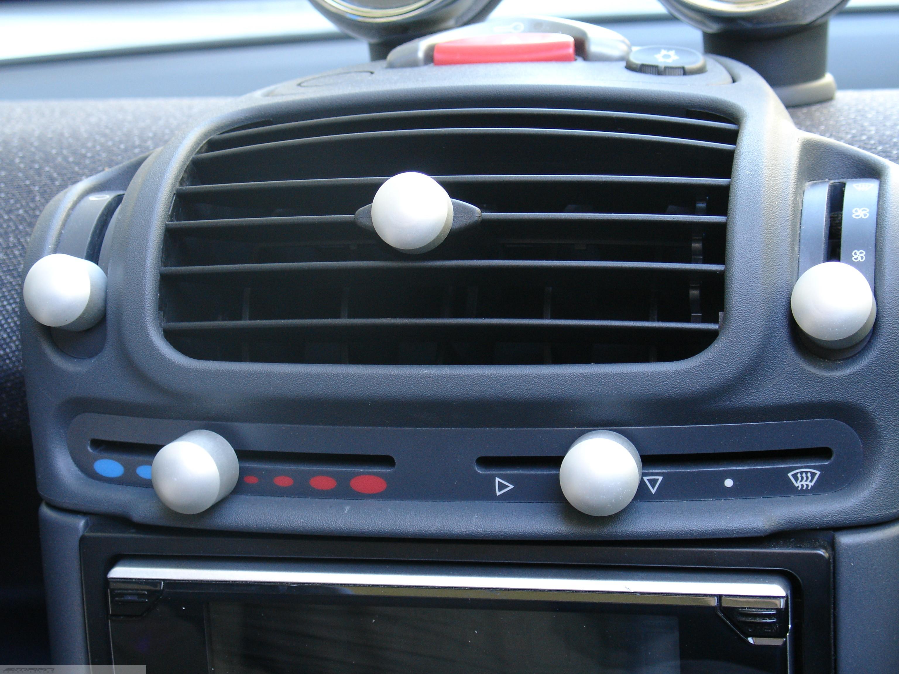 knobs set smart fortwo 450 smart power design. Black Bedroom Furniture Sets. Home Design Ideas