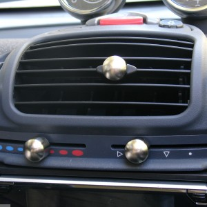 Knobs Set Nickel Mat Smart Fortwo 450
