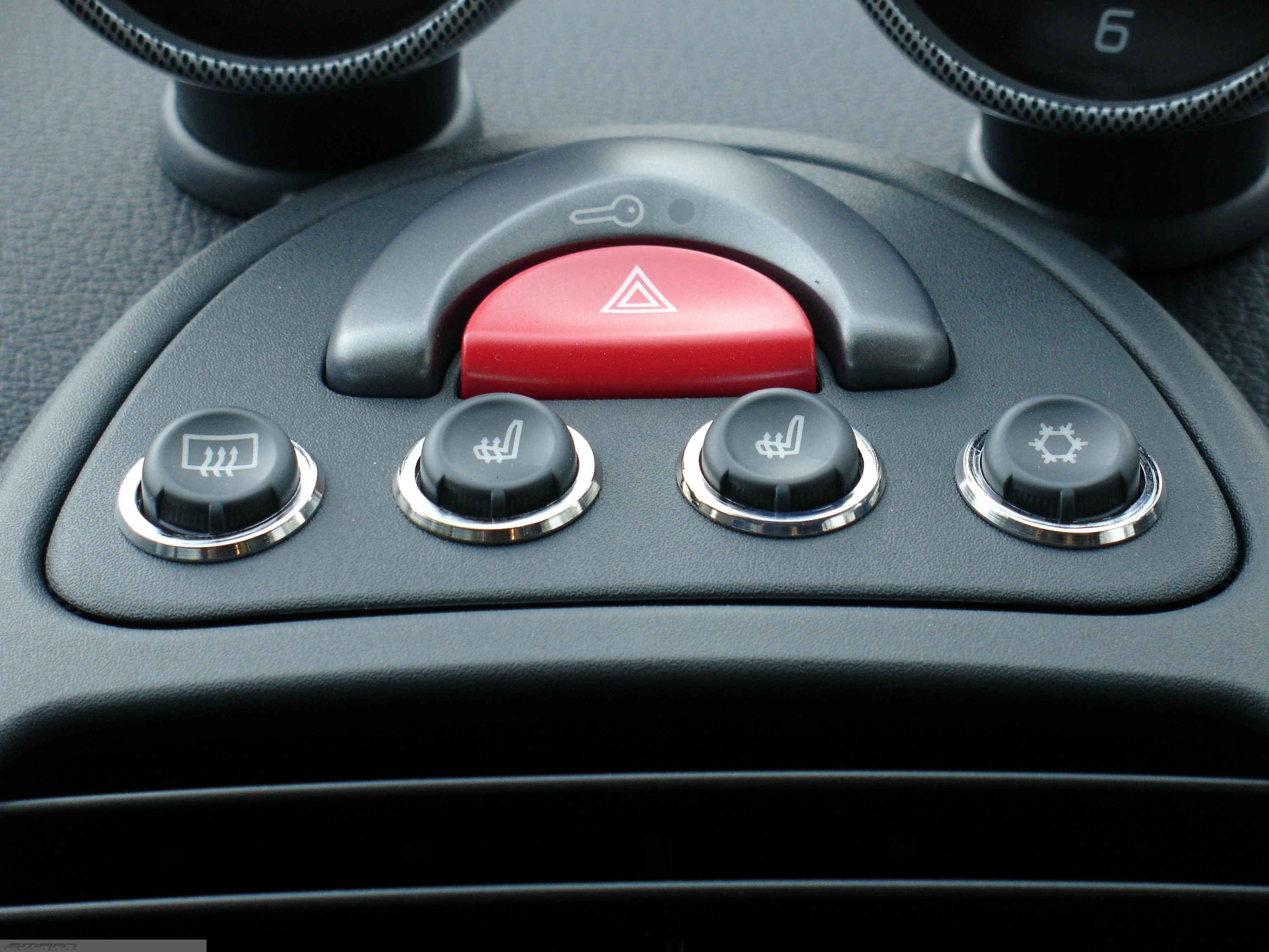 Ring's Set 4 Buttons Smart Fortwo 450.