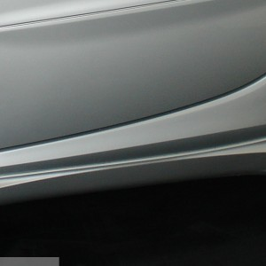 Side Skirts River Silver Smart Fortwo 450 ( Coupe).