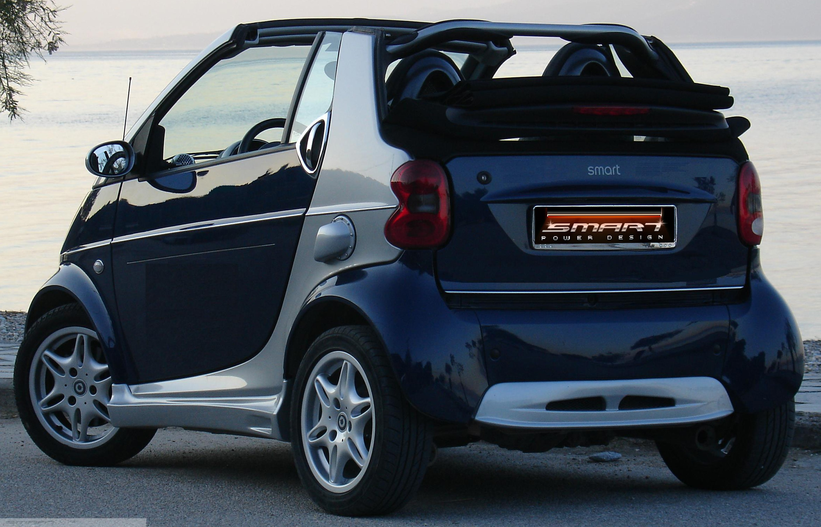 Smart Body Kit Rear view Cabrio Smart Fortwo 450