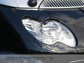 Headlight Frames Jack Black Smart Fortwo 450.