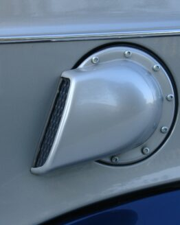 Side Air Intake Scoop River Silver Smart Fortwo 450.