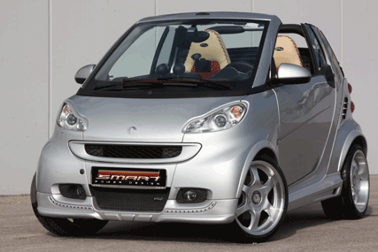Smart Fortwo 451 Tuning exterior.