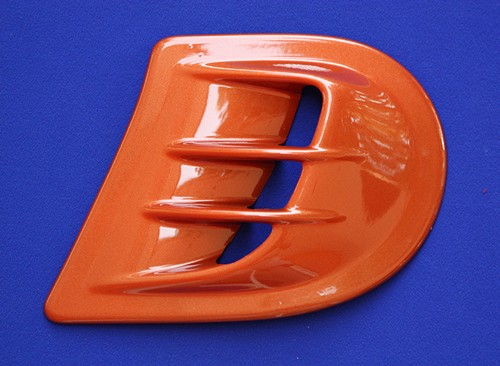 This is the Air Scoop, available for the new Smart Fortwo 453 in Lava Orange Metallic color.