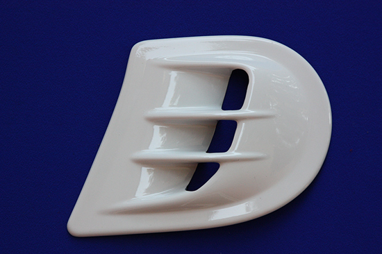This is the Air Scoop, available for the new Smart Fortwo 453 in White color.