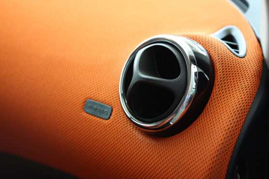 This is the Right Chrome Ring for the Vents of your Smart Fortwo 453.