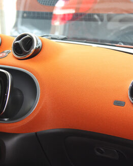 These are Chrome Rings which can be installed on the Ventes, at the interior of your Smart Fortwo 453.