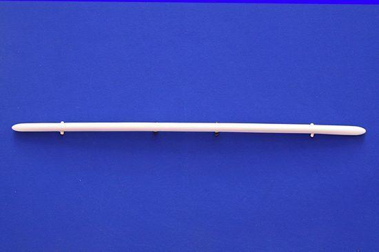 Αυτή είναι η Γρίλια για την κάτω μάσκα του Smart Fortwo 453 σε χρώμα White Acrylic (άσπρο ακρυλικό χρώμα).