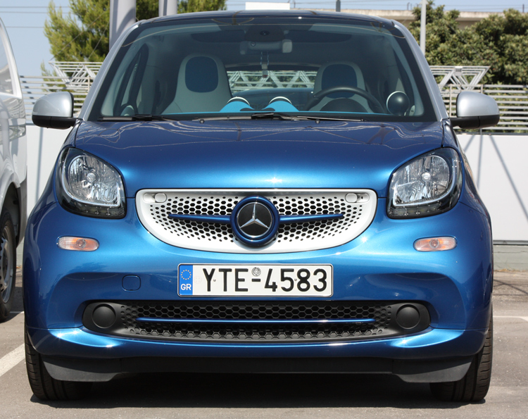 low grill trim piece smart fortwo 453 midnight blue. Black Bedroom Furniture Sets. Home Design Ideas