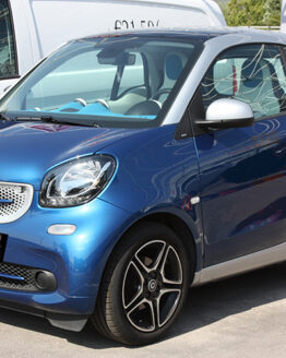 This is the new Smart Fortwo 453, in Midnight Blue Metallic Edition, tuned by Smart Power Design.