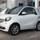These are the Fender Flares for Smart Fortwo 453 in Moon White color with Cool Silver Metallic Tridion color.