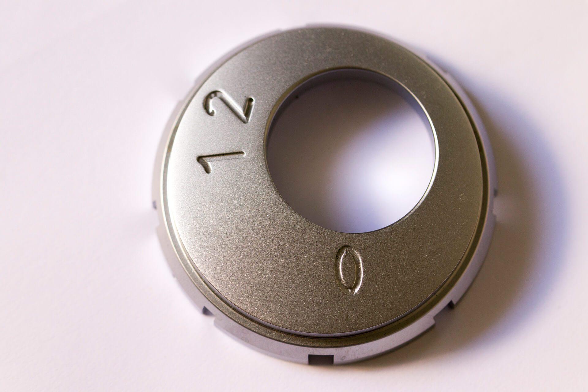 Aluminum Ignition Lock Plate